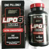 Suplemento sano Lipo-6 de Rx de la cuenta de la investigación 60 de Nutrex