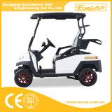 Gebildet im elektrischen Golf-Auto China-2 Seater für Verkauf