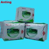 Mesdames les serviettes hygiéniques avec négatif anion tampon sanitaire pour les produits d'utilisation quotidienne
