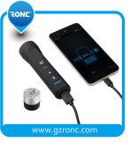 Altoparlante esterno di Bluetooth della torcia dell'altoparlante senza fili della torcia elettrica del LED