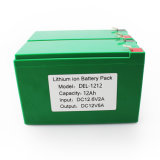 Plastik-Batterie-Satz des Lithium-12V