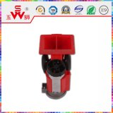 Рожочок громкого диктора красного цвета для частей цикла мотора