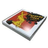 4つのカラー波形ピザ包装ボックス(FP8039115)