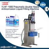 El doble neumático dirige la máquina de rellenar líquida de la anticorrosión hacia el pesticida (YLHF-1000)
