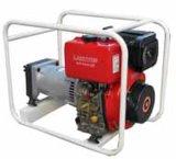 El generador, el motor, bomba de agua
