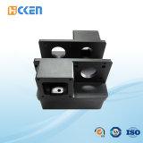 Il nero personalizzato della fresatrice di CNC anodizza i pezzi meccanici dell'alluminio preciso del tornio