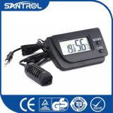 デジタル温度および湿気の温度計