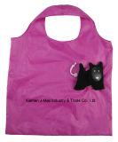 Sacchetto pieghevole del cliente con il sacchetto 3D, lo stile animale della mucca, i sacchetti riutilizzabili, leggeri, di drogheria e pratico, regali, promozione, accessori & decorazione