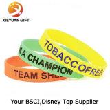 Usine Logo personnalisé Glow Bracelet d'alimentation pour l'événement