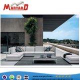 Элегантный высокого качества для использования вне помещений ткань мебелью и видом на сад отеля диван