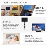 Для использования внутри помещений цифрового HDTV с усилителем антенны 50 трехмильной зоны 4K HD VHF UHF Freeview