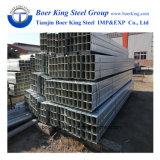 Оцинкованный квадратная стальная труба на складе размер 12*12мм-600*600мм