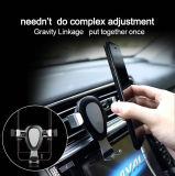 Schwerkraft-Auto-Luft-Luftauslass-Metallauto-Handy-Halter, spezielles Auto-allgemeinhintelefon