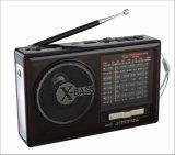 FM/AM/Sw1-7 9 bandes radio portable avec batterie rechargeable USB/TF//haut-parleur Bluetooth