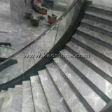 Mármol gris de los Hemes Polished naturales para el azulejo del suelo/de la pared