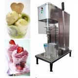 Heiße Verkaufs-Tisch-Oberseite-Edelstahl-Strudel-Eiscreme-Maschine