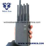 8 Jammers WiFi GPS Lojack антенны Handheld и Jammer сигнала телефона 3G 4glte 4gwimax