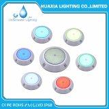 12V RGB lampen-Swimmingpool-Licht der Farben-änderndes Oberfläche eingehangenes LED Unterwasser
