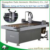 Tagliatrice di plastica di stampa del modello di carta di CNC per la fabbricazione del campione