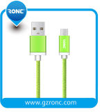 Cable USB de nylon de alta calidad para el iPhone Samsung Andriod
