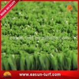 Ajardinando a grama artificial do relvado do jardim do monofilamento