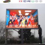 10000dots al aire libre para la pantalla fija de la instalación P10 LED