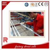 Profil en aluminium/en aluminium d'extrusion pour la lavette Rod6063