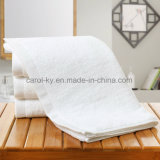 星のホテル白いカラータオルの綿の浴室タオル