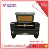 Corte del laser de la tela y máquina de grabado