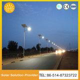 Iluminación solar solar de las luces de calle LED para el campo del camino de la escuela