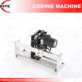Máquina de la codificación de la cinta/troqueladora para el número de tratamiento por lotes de la fecha de China