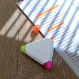 カスタマイズされたロゴのABS包装の三角の形のHighlighter