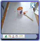 Белый липких плитки коврик с помощью клея