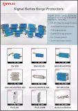 Protezione di impulso dell'interruttore di Ethernet del supporto di cremagliera delle porte CAT6 16