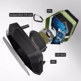2017 옥외 휴대용 Bluetooth 스피커는 4.0 붙박이 mic 600mAh 재충전 전지 12 노는 시간 Bluetooth 4.0 스피커를 방수 처리한다