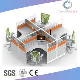 Het populaire Bureau Workstaion van Twee Tegenovergestelde Zetels met Duidelijke Verdeling (cas-W31409)