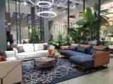 Sofà d'angolo di vendita del tessuto del sofà poco costoso caldo del sofà 123