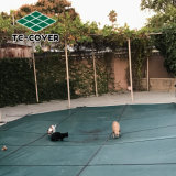 Безопасности тканью бассейн крышки