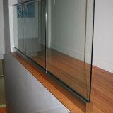 지면 - Decking를 위한 거치된 알루미늄 기본적인 단화 유리제 방책