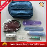 Kit de voyage à bas prix des articles de toilette avec logo personnalisé