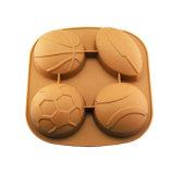 La FDA délivrent un certificat le moulage de gâteau de silicones, moulage de gâteau de silicones de forme de bille/moulage de pudding/moulage de silicones crême glacée