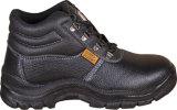 Ботинки безопасности людей кожаный в коже коровы с стальным пальцем ноги и подошвой PU