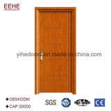 Doubles couleurs en bois de porte principale de panneau de constructeur de la Chine