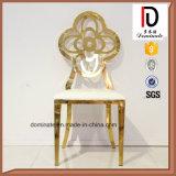 Стул нержавеющей стали типа цветка золота хорошего качества самомоднейший