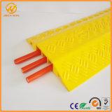 Rampe gialle del cavo del pavimento del PVC della Manica del tester 3 del coperchio uno