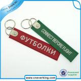 Broderie en polyester personnalisé Équipage Trousseaux, des porte-clés, Key Rings
