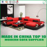 Mobilia di cuoio italiana del sofà di svago del salone