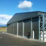 Amplia gama de Hangar Edificios Prefabricados de estructura de acero