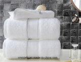 Dobby serviette blanche pour salle de bains Hotel and SPA Serviettes de bain en coton