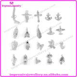 Charmes de pendants d'acier inoxydable pour faire le bracelet et le collier
